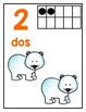 Spanish Number Posters 1-20 *Bugs and Animals*