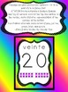 Spanish Number Posters Neon Edition 1 to 20 Ten Frames