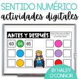 Spanish Number Sense Digital Activities {Sentido Numérico}