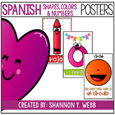 Spanish Bundle (Numbers, Shapes, & Colors)