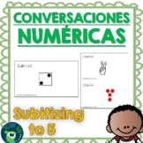 Spanish Number Talks - Subitizing to 5