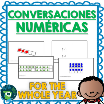 Spanish Number Talks - Whole Year Bundle