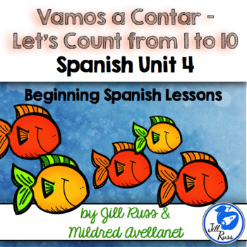 Números: Number Words Beginning Spanish Lessons for Elementary