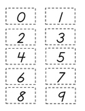 Spanish Number and Shape Flash Cards