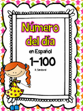 Spanish Number of the Day 1-100