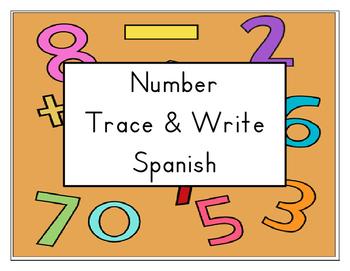 Spanish Number Writing