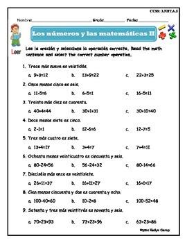 Spanish Numbers 0-100