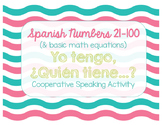 Spanish Numbers (Números) 0-100: Yo Tengo, ¿Quién Tiene? (