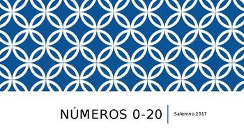 Spanish Numbers 0-20