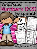 Spanish Numbers 0-20: Los Numeros {Distance Learning}