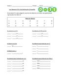 Spanish Numbers 0-31: Spelling // Números 0-31 en Español: Ortografía