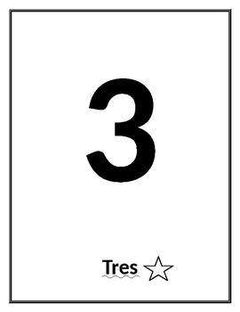 Spanish Numbers 1-10