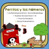 Spanish Numbers 1-10 Numeros en Espanol 1-10