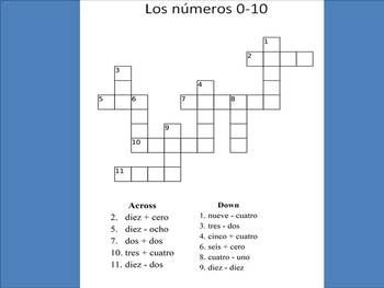 Spanish Numbers 1-10: Asking for Phone Numbers