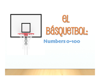 Spanish Numbers 1-100 Basketball
