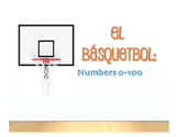 Spanish Numbers 1-100 Basketball
