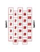 Spanish Numbers 1-100 Brickbreaker Partner Game