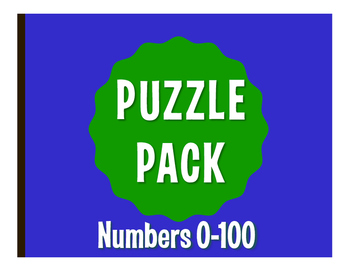 Spanish Numbers 1-100 Puzzle Pack