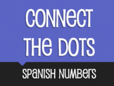 Spanish Numbers 1-100 Connect the Dots