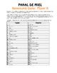 Spanish Numbers 1-100 Honeycomb Partner Game