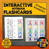 Spanish Numbers 1-100 Interactive Notebook Flashcards, Números 1-1,000,000