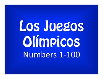 Spanish Numbers 1-100 Olympics