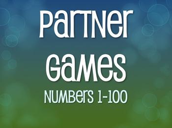 Spanish Numbers 1-100 Partner Games