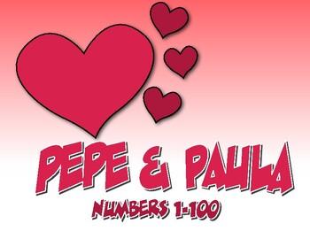 Spanish Numbers 1-100 Pepe and Paula Reading