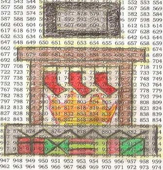 Spanish Numbers 1-1000 Christmas Fireplace