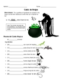 Spanish Numbers 1-30 Activities & Game--A Halloween Witch's Brew!