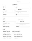Spanish Numbers 1-30 Notes: Los Números