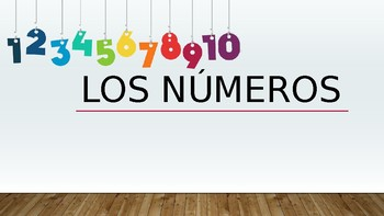 Spanish - Numbers (1-30) - Powerpoint