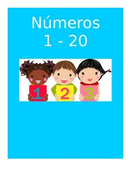 Spanish Numbers Flashcards 1 - 20