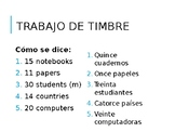 Spanish Numbers 30-100