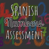 Spanish Numbers Assessment