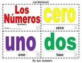 Spanish Numbers 2 Bilingual Coloring Booklets - Los Números 0 - 10