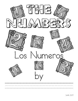 Spanish Numbers Book 1-10