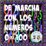 Spanish Numbers Carousel De Marcha con los Números 0 al 10