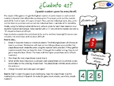 Spanish Numbers Game! Customizable for ALL levels! ¿Cuánto es?