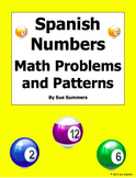 Spanish Numbers - Math Problems, Patterns, and Image IDs