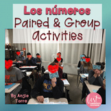Spanish Numbers Los números Listening and Speaking Paired & Group Activities