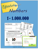 Spanish numbers to one million (1 - 1,000,000)
