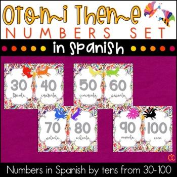 Spanish Numbers - Otomi Theme