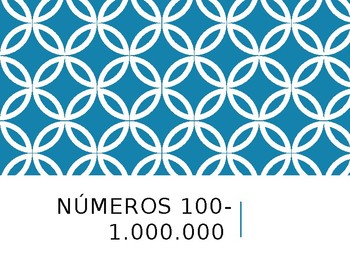 Spanish Numbers Over 100 PowerPoint