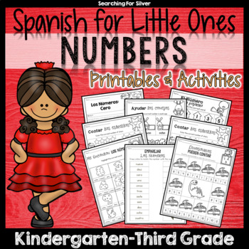 Spanish Numbers Packet, A Gentle Introduction to Numbers 1-10