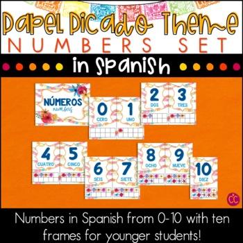 Spanish Numbers - Papel Picado Theme