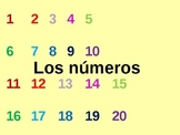 Spanish Numbers PowerPoint 1-100