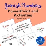 Spanish Numbers Los números PowerPoint and Activities