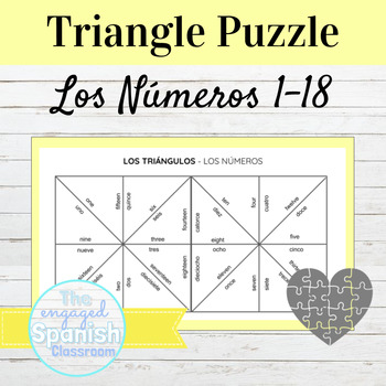 Spanish Numbers Puzzle