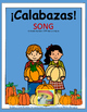 FREE ¡Calabazas! - Spanish Numbers Song